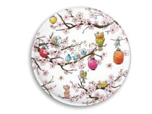 Aimant Le cerisier en fleurs magnet original