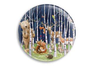 Aimant Les animaux de la forêt magnet original