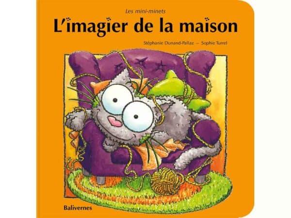 Livre cartonné L'imagier de la maison couverture