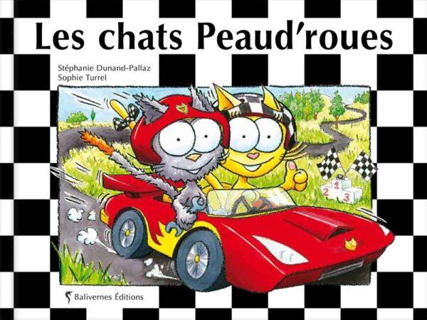 Couverture du Livre Les chats Peaud'roues
