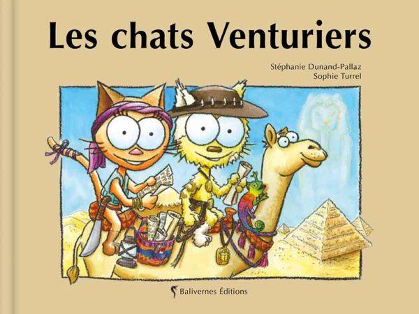 Livre Les chats Venturiers couverture