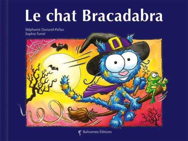 Livre Le chat Bracadabra couverture