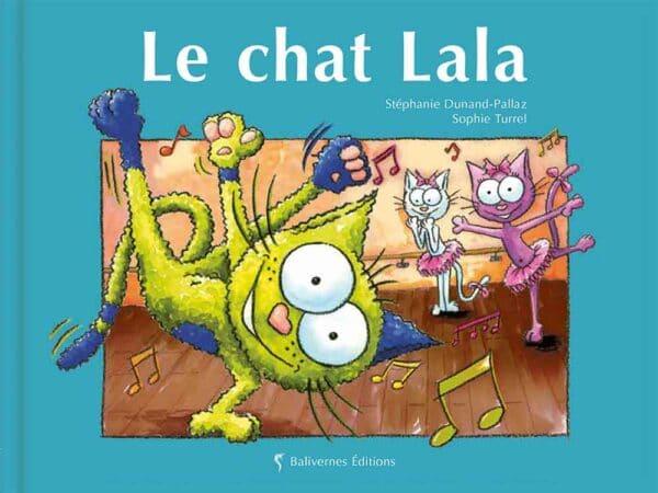 Livre Le chat Lala couverture