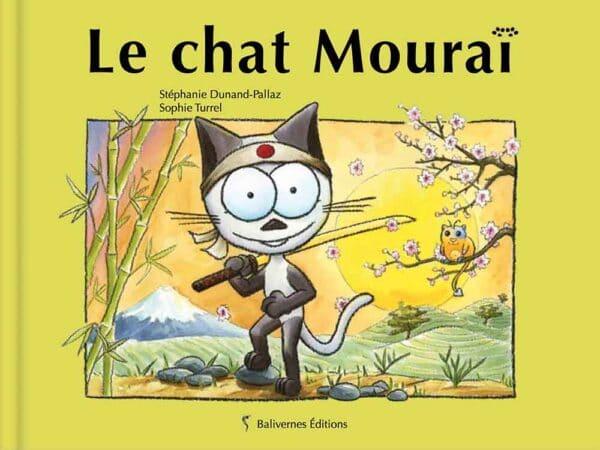 Livre Le chat Mouraï couverture