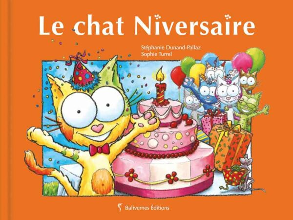 Livre Le chat Niversaire couverture