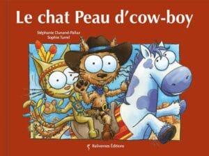 Livre Le chat Peau d'cow-boy couverture