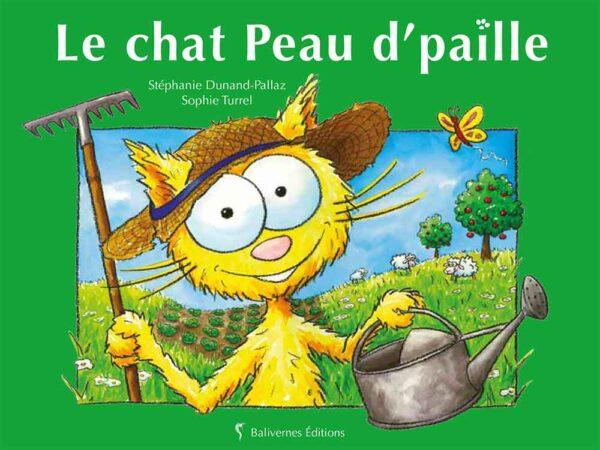Livre Le chat Peau d'Paille couverture