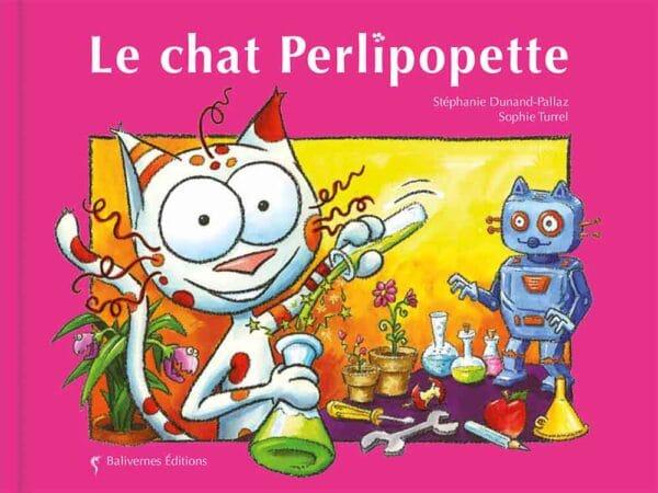 Livre Le chat Perlipopette couverture