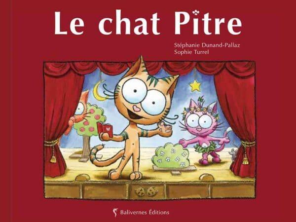 Livre Le chat Pitre couverture