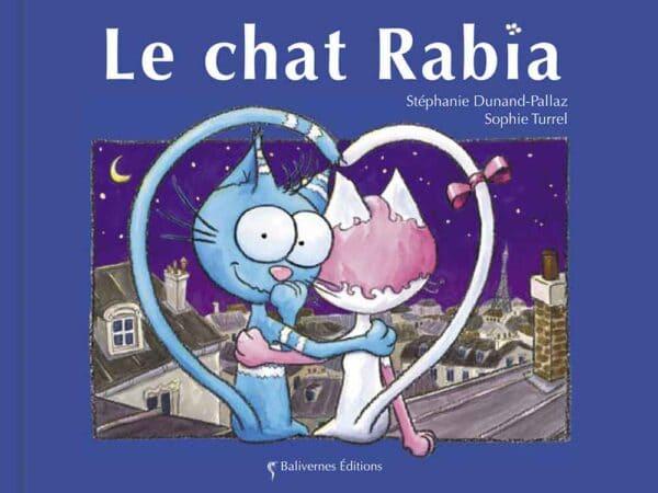Livre Le chat Rabia couverture