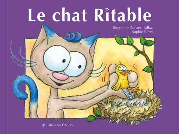 Livre Le chat Ritable couverture