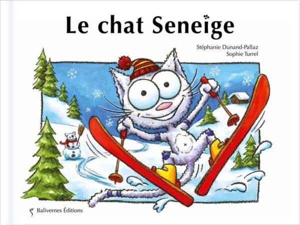 Couverture du livre Le chat Seneige