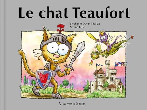 Couverture du livre le chat Teaufort