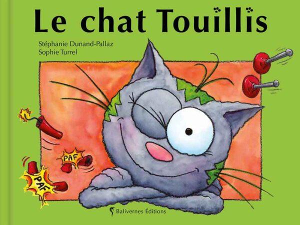 Couverture du livre Le chat Touillis