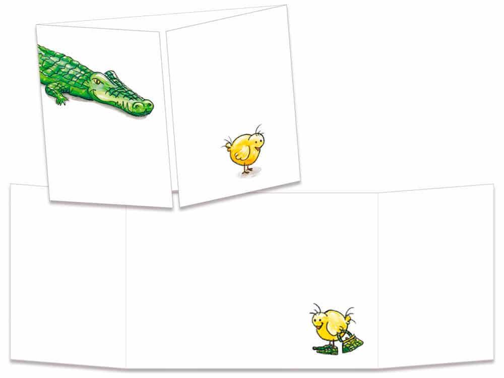 """Les cartes postales """"cache-cache"""""""