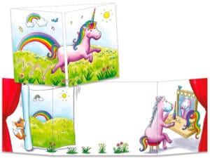 carte postale cache-cache ct299 le mystère de la licorne