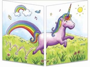 carte postale cache-cache ct299 le mystère de la licorne fermée
