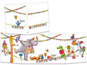 carte postale cache-cache ct307 Les funambules