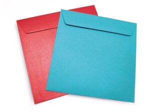 Enveloppes 14,5 x 14,5 cm pour carte carré 14 x 14