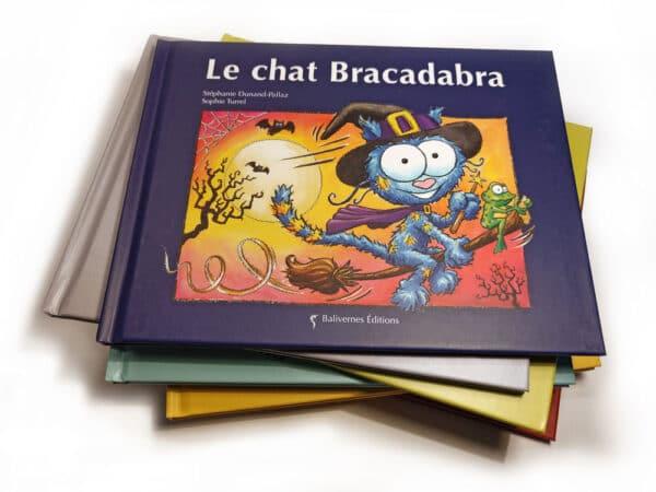 Livre Le chat Bracadabra et la série Les petits chats