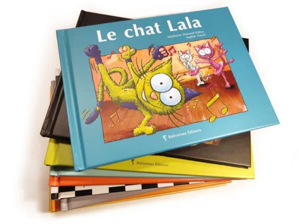 Livre Le chat Lala et la série Les petits chats
