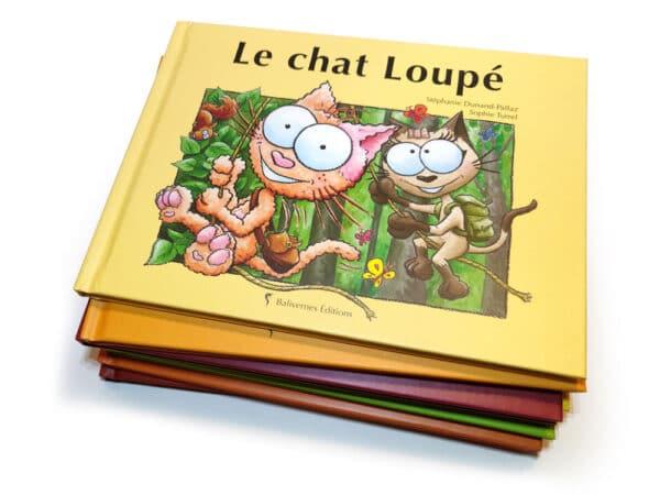 Livre Le chat loupé et la série Les petits chats