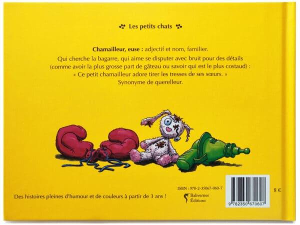 Livre Le chat Mailleur de dos