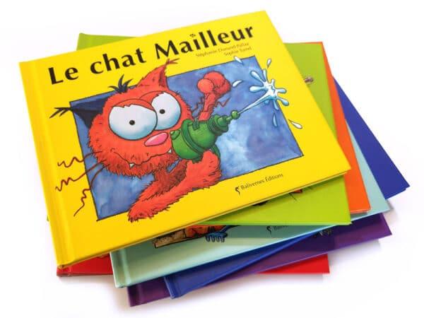Livre Le chat Mailleur et la série Les petits chats