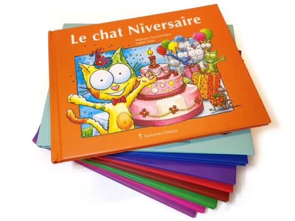 Livre Le chat Niversaire et la série Les petits chats