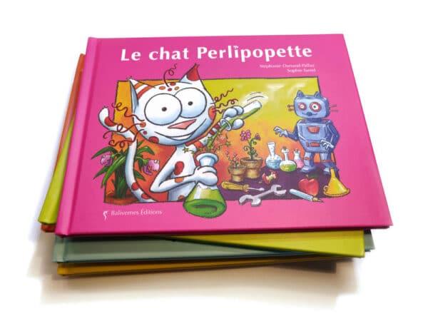 Livre Le chat Perlipopette et la série Les petits chats