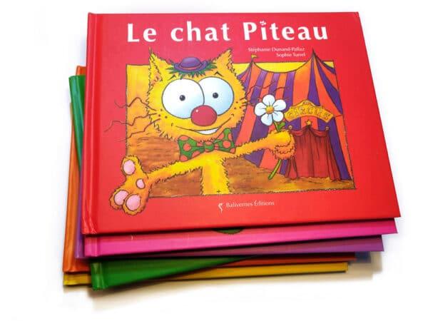 Le chat Piteau et la collection Les petits chats
