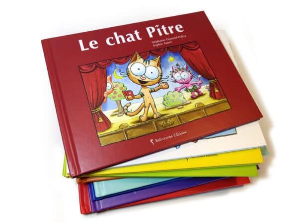 Livre Le chat Pitre et la série Les petits chats