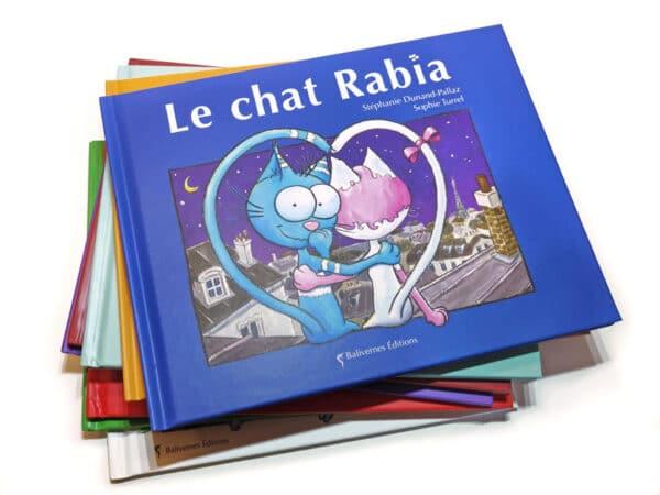 Livre Le chat Rabia et la série Les petits chats