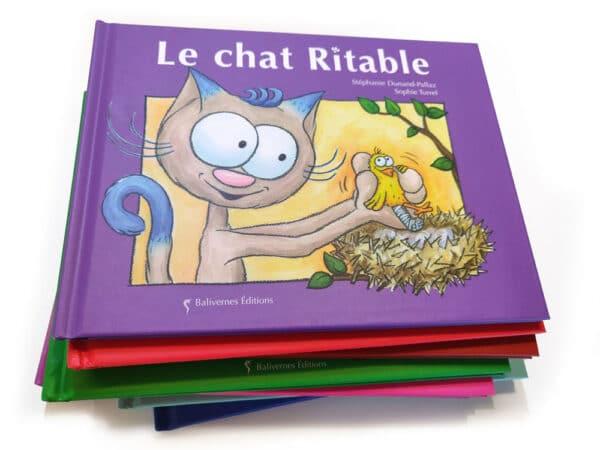 Livre Le chat Ritable et la série Les petits chats