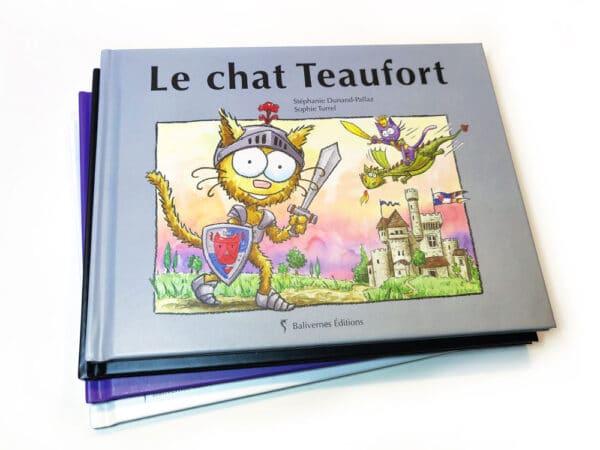Livre le chat Teaufort et la série Les petits chats