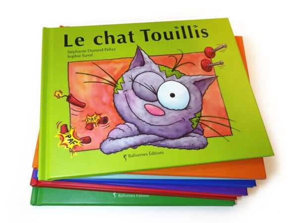Livre Le chat Touillis et la série Les petits chats