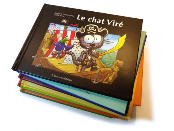 Livre Le chat Viré et toute la collection les petits chats