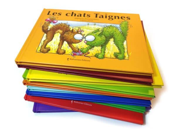 Livre Les chats Taigneset la série Les petits chats