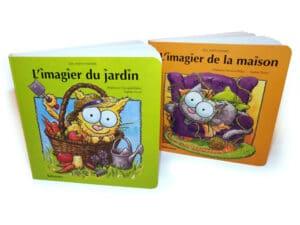 "Les 2 imagiers ""Les mini minets"""