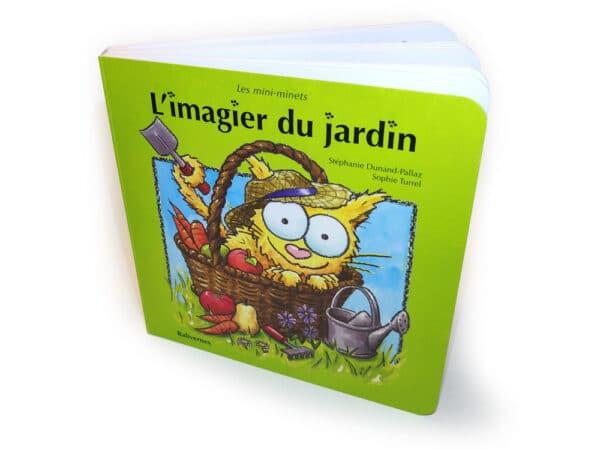 L'imagier du jardin, livre cartonné
