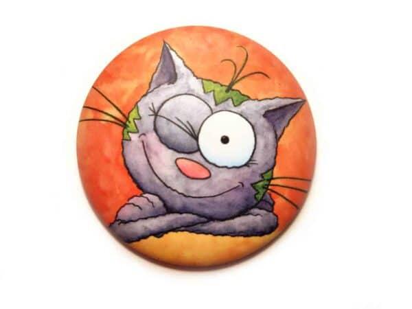 Magnet Le chat Touillis clin d'œil aimant