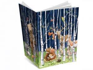 Cahier A5 Les animaux de la forêt