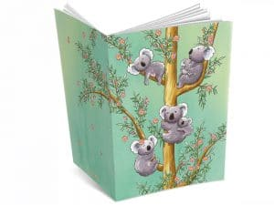 Cahier A5 Les koalas