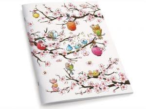 Cahier A5 Le cerisier en fleurs