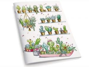 Cahier A5 Les cactus