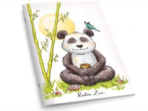 Cahier A5 Le panda Zen