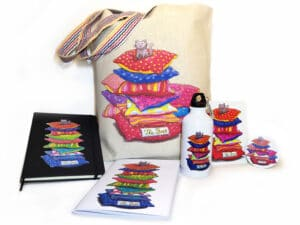Pack objets assortis illustrés