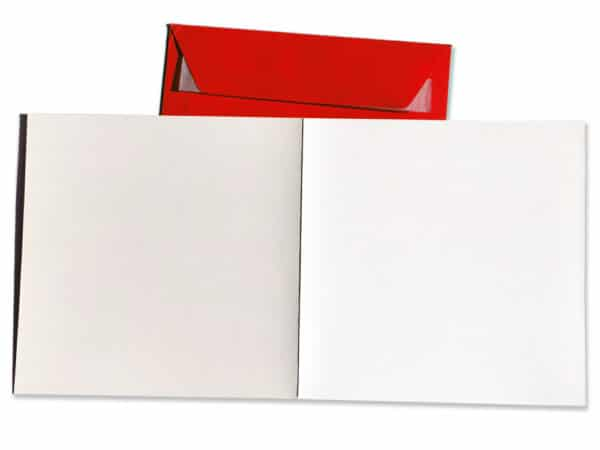 Carte postale fiestanniversaire et enveloppe