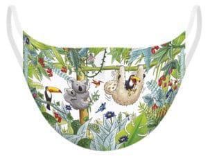 Masque tissu Jungle, protection catégorie 1