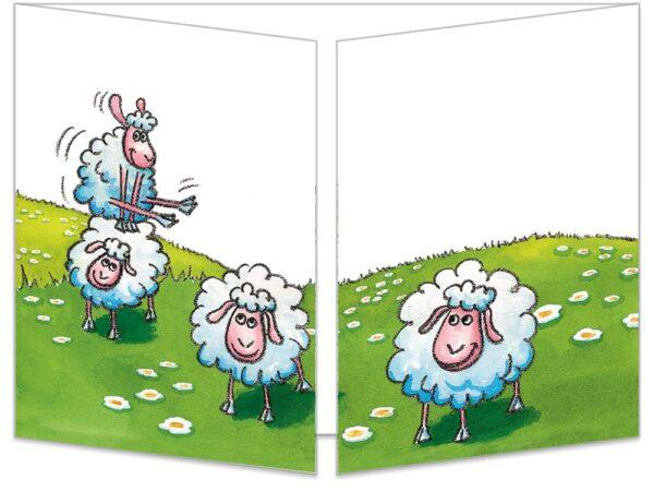 Une partie de saute-mouton